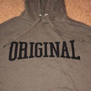 ORIGINAL divided crop sweater